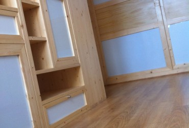 Création et réalisation d'un meuble escalier